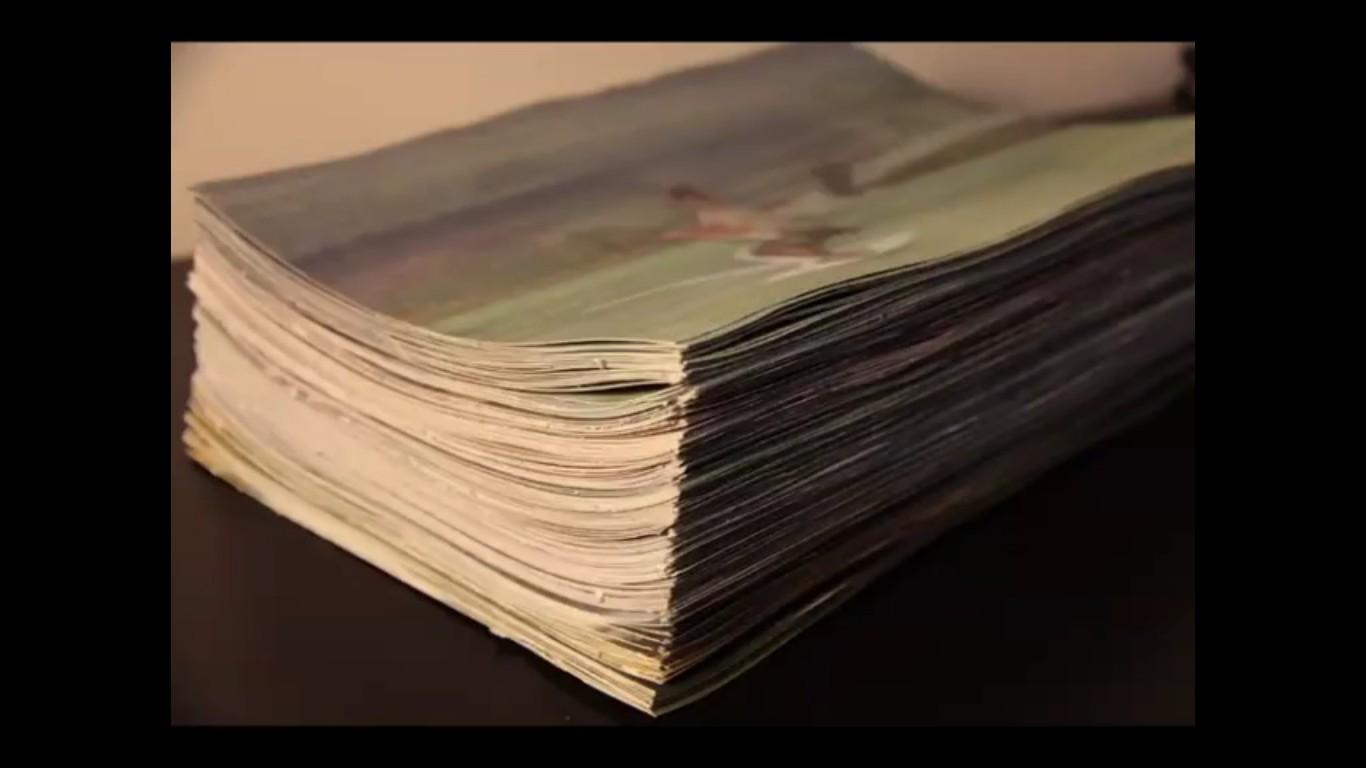 animation stop-motion de kitesurf
